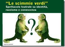 le scimmie verdi
