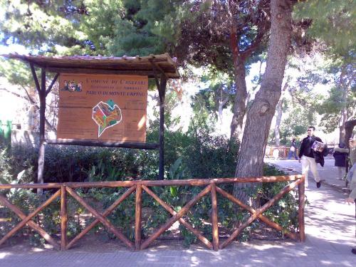 Parco Monte Urpinu ingresso via Pietro Leo